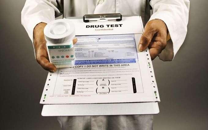 Holding Drug Test Application