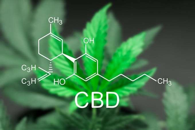 Molecular Structure Of CBD