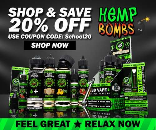 Hemp Bombs CBD Vape Oil Ad