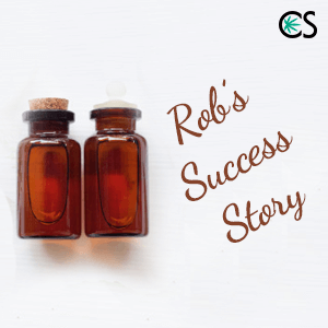 CBD for Depression & Stress - Rob's Success Story