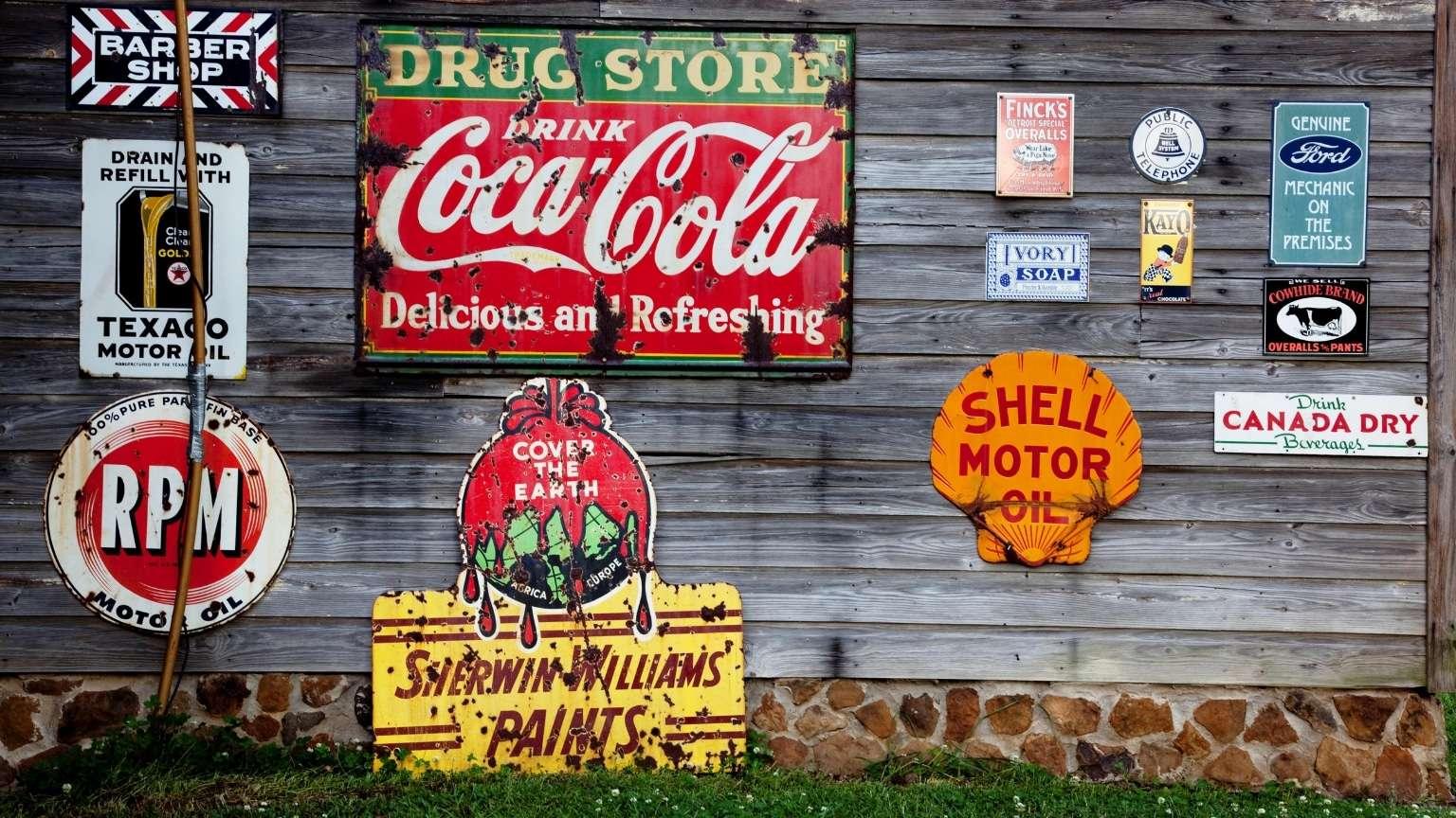 coca-cola-advertisement-signs