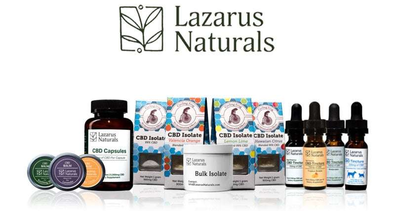 Lazarus Naturals Products