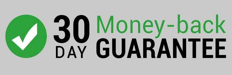 30 Day Money Back Guarantee Logo