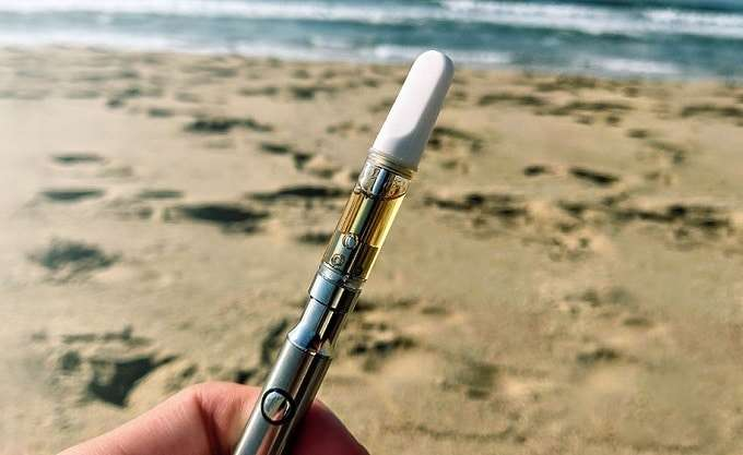 Vaping Cannabis Distillate