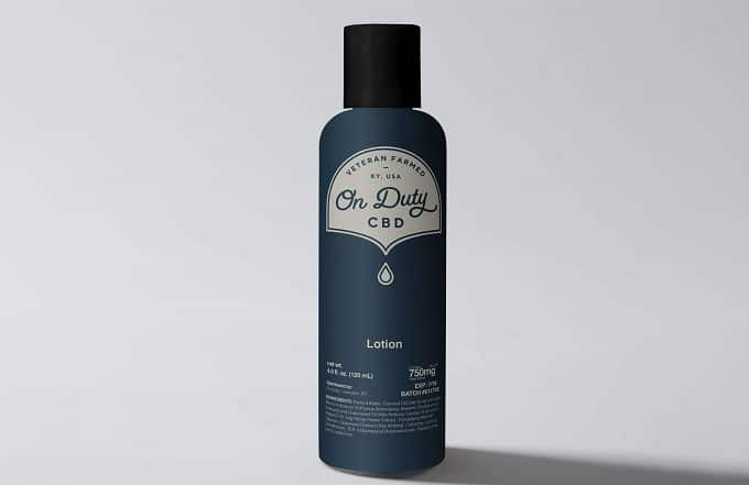 On Duty CBD Lotion