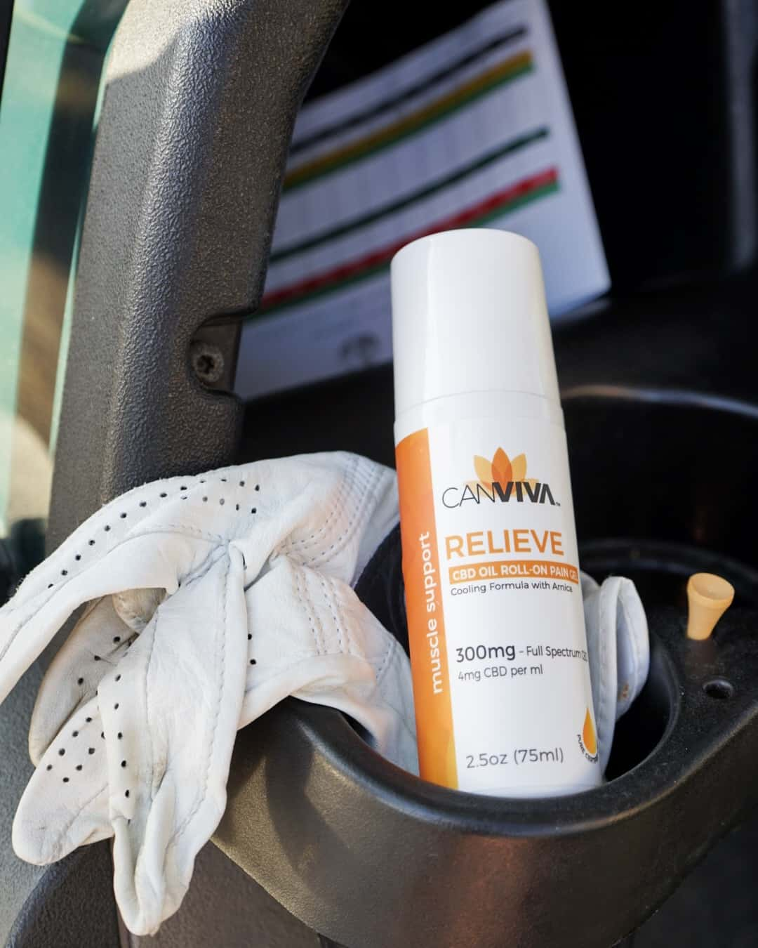 CANVIVA Relieve In Golf Cart