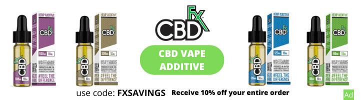 cbdfx cbd vape additive