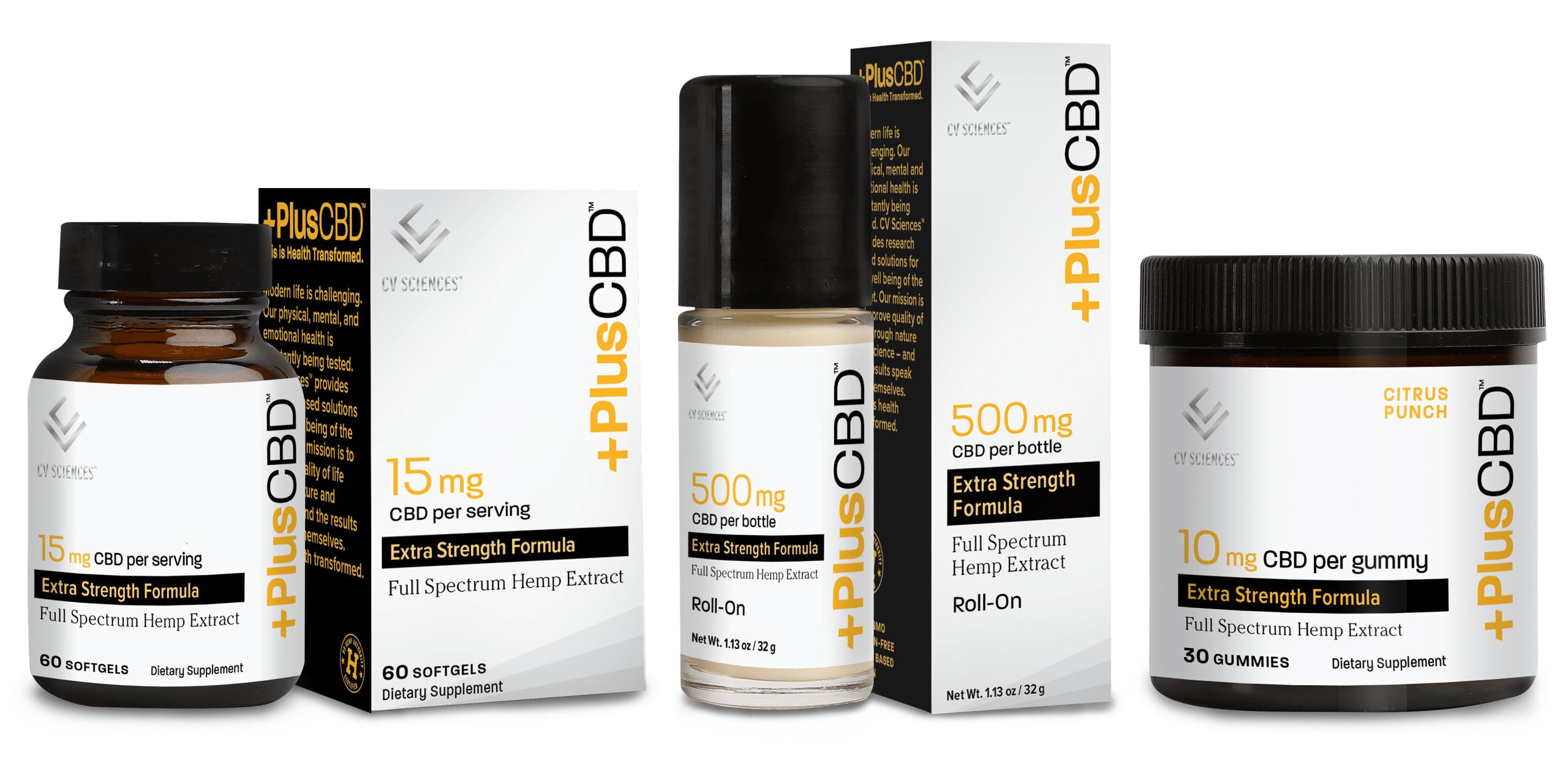 plus cbd products