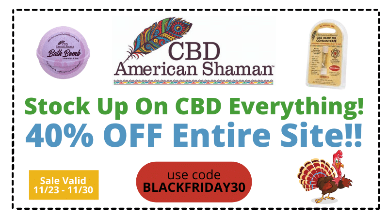 american shaman black friday