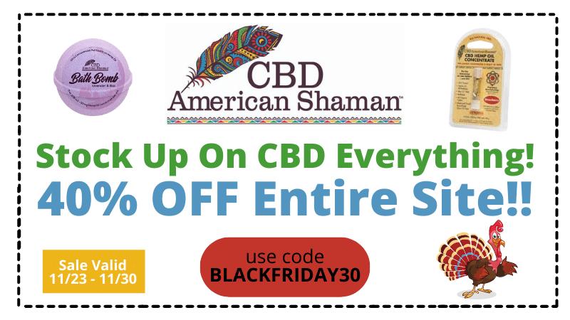 american shaman black friday