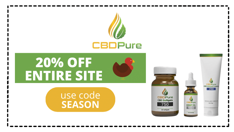 cbdpure black friday coupon