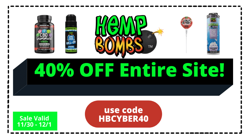 hemp bombs cyber monday