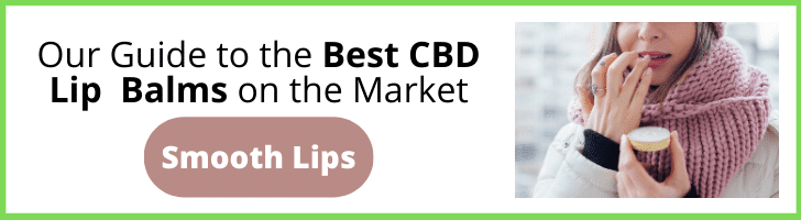 best cbd lip balm