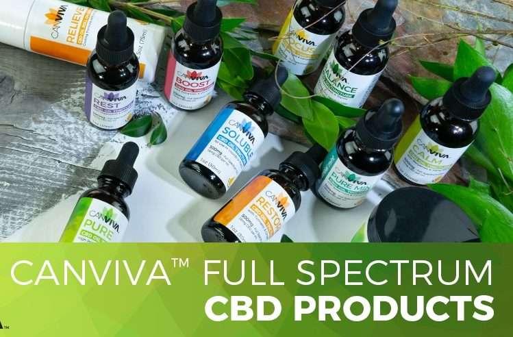 canviva full-spectrum cbd oils
